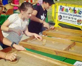 Jeux en bois d'autrefois