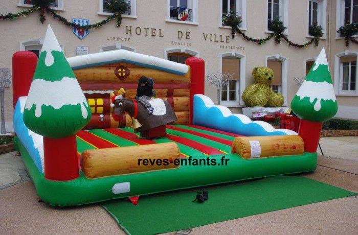 location Renne rodéo Noël ou snowboard ile de france