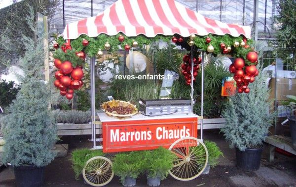 Stand marrons chaud