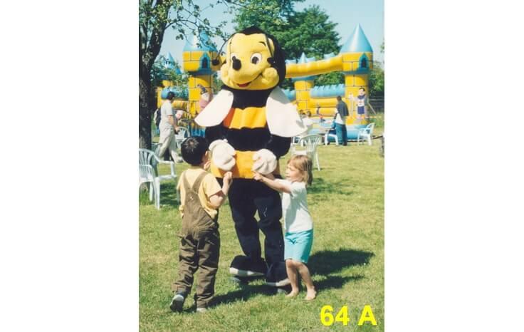 location mascotte abeille 64 a costume mascotte paris 77 ile de france. Black Bedroom Furniture Sets. Home Design Ideas