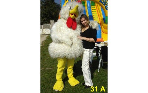 Mascotte poule 31 A