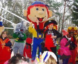 Carnaval – Mardi gras 2017 – Réservez vos locations de mascottes et stand maquillage.