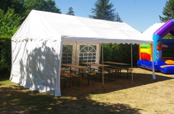 location Tente de réception 4 x 6 M ile de france