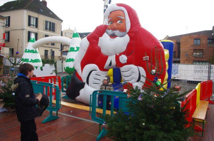 location Santa clauss ile de france