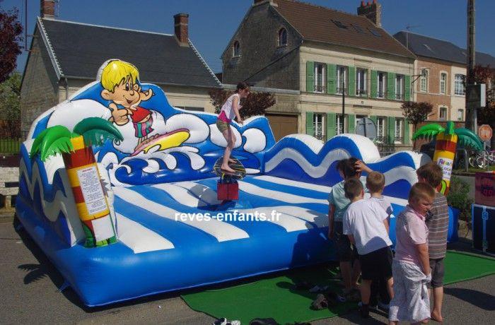 location Surf des mers / dauphin rodéo ile de france