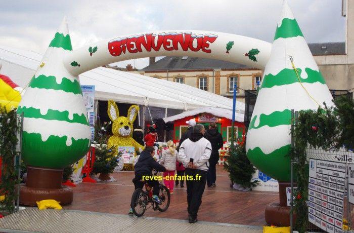 location Arche de Noël ile de france