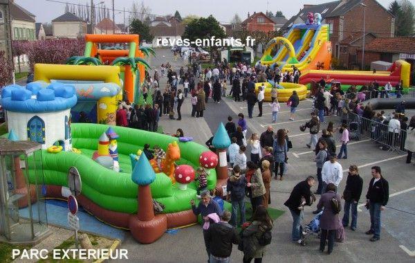 Parc de jeux gonflables