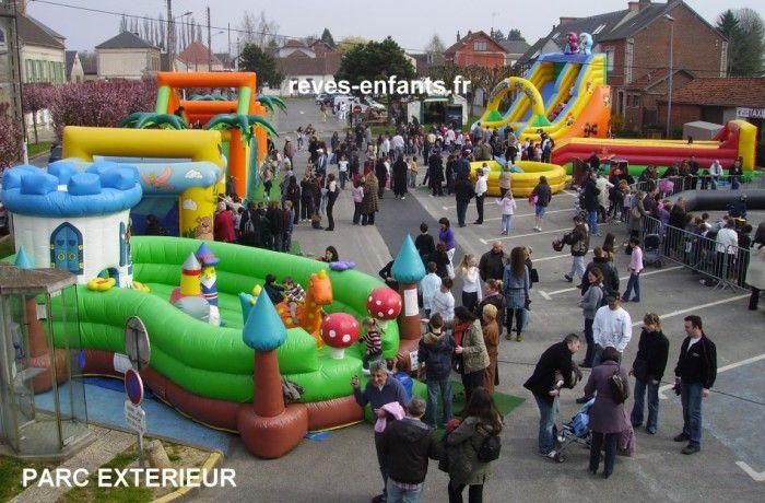 location Parc de jeux gonflables ile de france