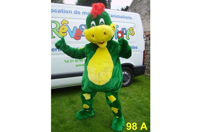 location Mascotte dinosaure 98 A ile de france