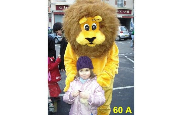 Mascotte lion 60 A