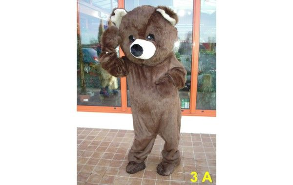 Mascotte ours 3 A