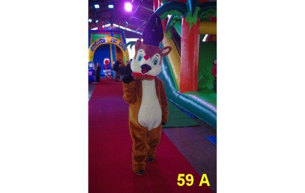 Mascotte renne 59 A